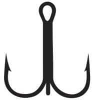 Крючок рыболовный KAMATSU Sea № 4/0 / 517100440 (5шт) -