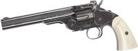 Револьвер пневматический ASG Schofiled 6 / 18912 (серебристый) -