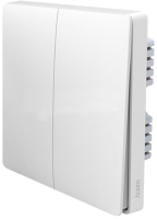 Выключатель Aqara Wall Switch Double Global / QBKG03LM -