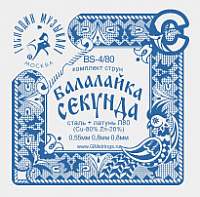 Струны для балалайки Господин Музыкант BS4/80 -