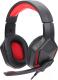 Наушники-гарнитура Redragon Themis / 77662 (черный/красный) -