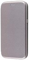 Чехол-книжка Case Magnetic Flip для Redmi 8 (серый) -