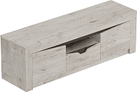 Тумба Мебельград Соренто с 2 дверцами и ящиком (дуб бонифаций/кофе структурный матовый) -