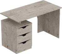 Письменный стол Мебельград Соренто (дуб бонифаций/кофе структурный матовый) -