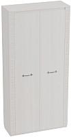 Шкаф Мебельград Элана 2-х дверный 101x41x208.5 (бодега белая) -