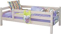 Кровать-тахта детская Мебельград Соня 70x160 (белый полупрозрачный) -