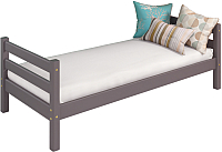 Односпальная кровать Мебельград Соня вариант 1 (массив березы лаванда) -