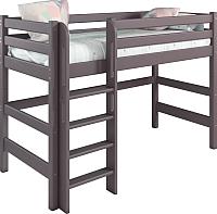 Кровать-чердак Мебельград Соня вариант 5 (массив березы лаванда) -