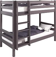 Двухъярусная кровать Мебельград Соня вариант 9 (массив березы лаванда) -