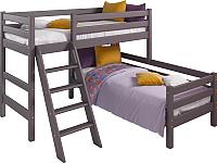 Двухъярусная кровать Мебельград Соня вариант 8 (массив березы лаванда) -