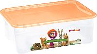 Ящик для хранения Пластишка Маша и медведь 4313850 -