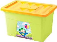 Ящик для хранения Пластишка С апликацией 4313068 -