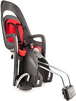 Детское велокресло Hamax Caress With Lockable Bracket / HAM553005 (серый/красный) -