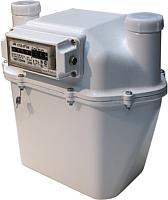 Счетчик газа бытовой БелОМО СГД ЗТ G6 с термокомпенсатором / 8181-10 (левый) -