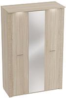 Шкаф Мебельград Элана 3-х дверный 143x64.5x218.5 (дуб сонома) -