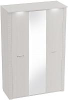 Шкаф Мебельград Элана 3-х дверный 143x64.5x218.5 (бодега белая) -