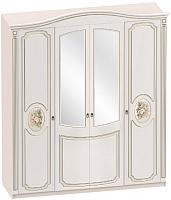 Шкаф Мебельград Верона 4-х дверный 190x58x230 (капучино/кофе) -