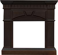 Портал для камина Смолком York V23 (махагон коричневый антик) -