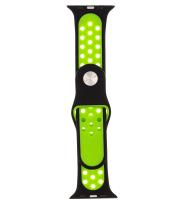 Ремешок для умных часов Evolution Sport Plus AW44-SP01 для Watch 42/44mm (Black/Fluorescent Green) -