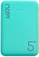 Портативное зарядное устройство Miru LP-3008 5000mAh (светло-зеленый) -