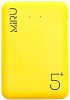 Портативное зарядное устройство Miru LP-3009 5000mAh (желтый) -