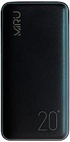 Портативное зарядное устройство Miru LP-3010 20000mAh (черный) -