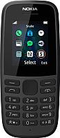 Мобильный телефон Nokia 105 Single SIM 2019 / TA-1203 (черный) -