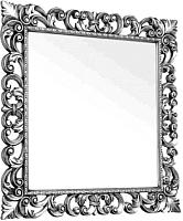 Зеркало Мебель-КМК Искушение 2 0459.8-01 (серебристый) -