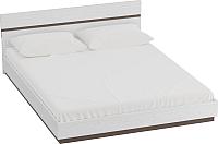 Каркас кровати Мебельград Виго 140x200 (венге/белый дым) -