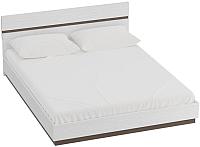 Каркас кровати Мебельград Виго 160x200 (венге/белый дым) -