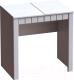Туалетный столик с зеркалом Мебельград Прованс (бодега белая/платина премиум) -
