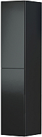 Шкаф навесной Мебель-КМК 2Д Альда 0782.2 (черный глянец) -