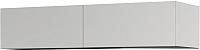 Шкаф навесной Мебель-КМК 2Д Альда 1 0782.3 (белый глянец) -