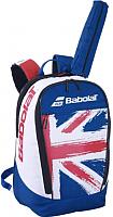 Рюкзак спортивный Babolat Backpack Classic Flag 20 / 753087-340 (белый/синий) -