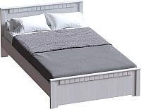 Каркас кровати Мебельград Прованс 140x200 (бодега белая/платина премиум) -