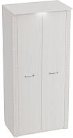 Шкаф Мебельград Элана 2-х дверный 101x64.5x218.5 (бодега белая) -