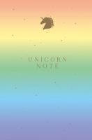Записная книжка Эксмо Unicorn Note -