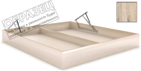 Ящик бельевой для кровати Мебельград Под подъемный механизм 120x200 (дуб бонифаций) -