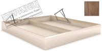 Ящик бельевой для кровати Мебельград Под подъемный механизм 120x200 (дуб стирлинг) -