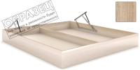 Ящик бельевой для кровати Мебельград Под подъемный механизм 140х200 (дуб сонома) -