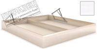 Ящик бельевой для кровати Мебельград Под подъемный механизм 160x200 (бодега белая) -