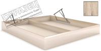 Ящик бельевой для кровати Мебельград Под подъемный механизм 180x200 (дуб бонифаций) -