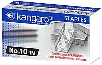 Скобы канцелярские Kangaro №10 1М (1000шт) -