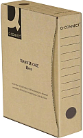 Коробка архивная Q-Connect KF15848 (150мм, коричневый) -