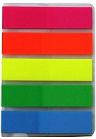 Стикеры канцелярские Info Notes Global 07-268109-2014 (25шт, 5 цветов) -