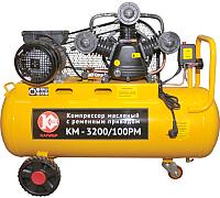 Воздушный компрессор Калибр КМ-3200/100РМ (50304) -