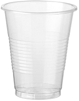 Набор одноразовых стаканов ИнтроПластика Пластиковый 200мл (100шт) -