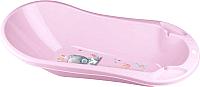 Ванночка детская Пластишка Me to You c клапаном для слива и воды 431301905 (розовый) -