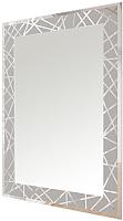 Зеркало интерьерное Мебельград Z-03 прямоугольник 97.8x72.8 (с пескоструйной обработкой) -