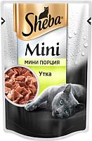 Корм для кошек Sheba Mini c уткой (50г) -